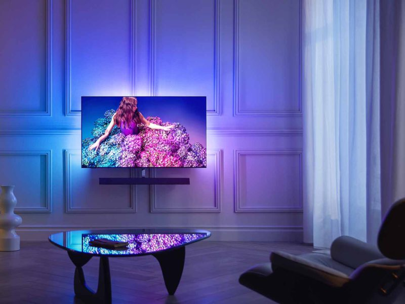 philips, tv, oled