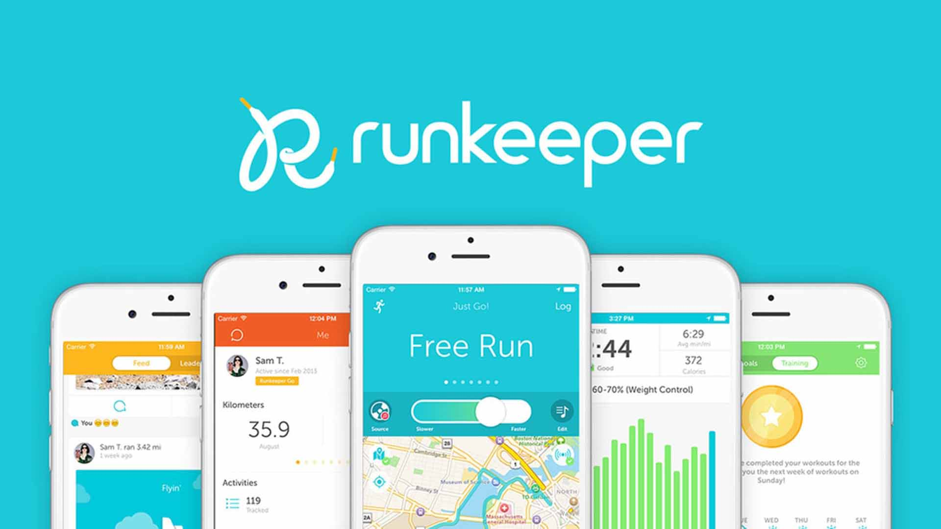 apps, marathon, runkeeper