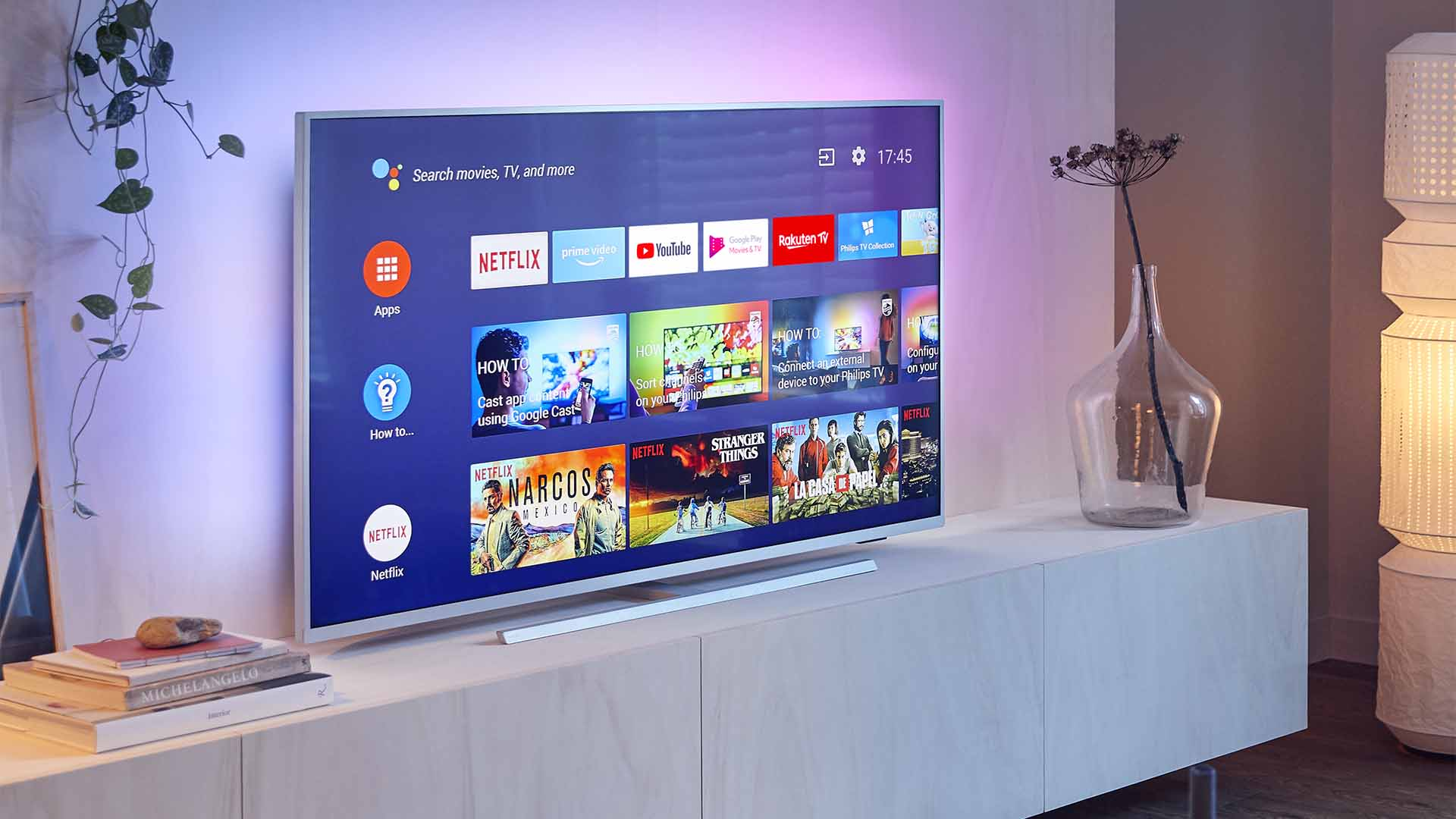 philips, tv, televisie, dolby atmos, dolby vision
